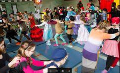 Fasching 2017 - Schule macht Spaß